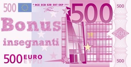 Risultati immagini per 500 euro insegnanti