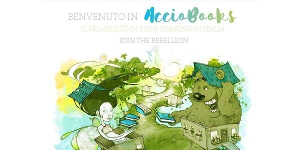 AccioBooks: il nuovo sito per lo scambio di libri e il booksharing