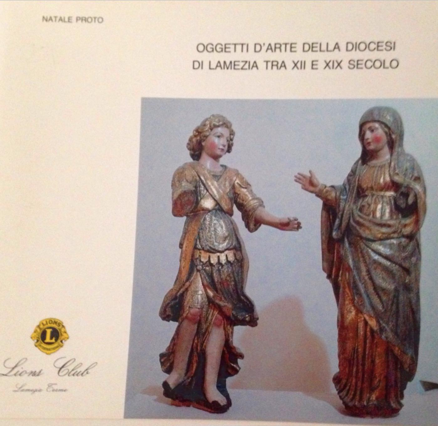 Oggetti d'arte della diocesi di Lamezia tra XII e XIX secolo