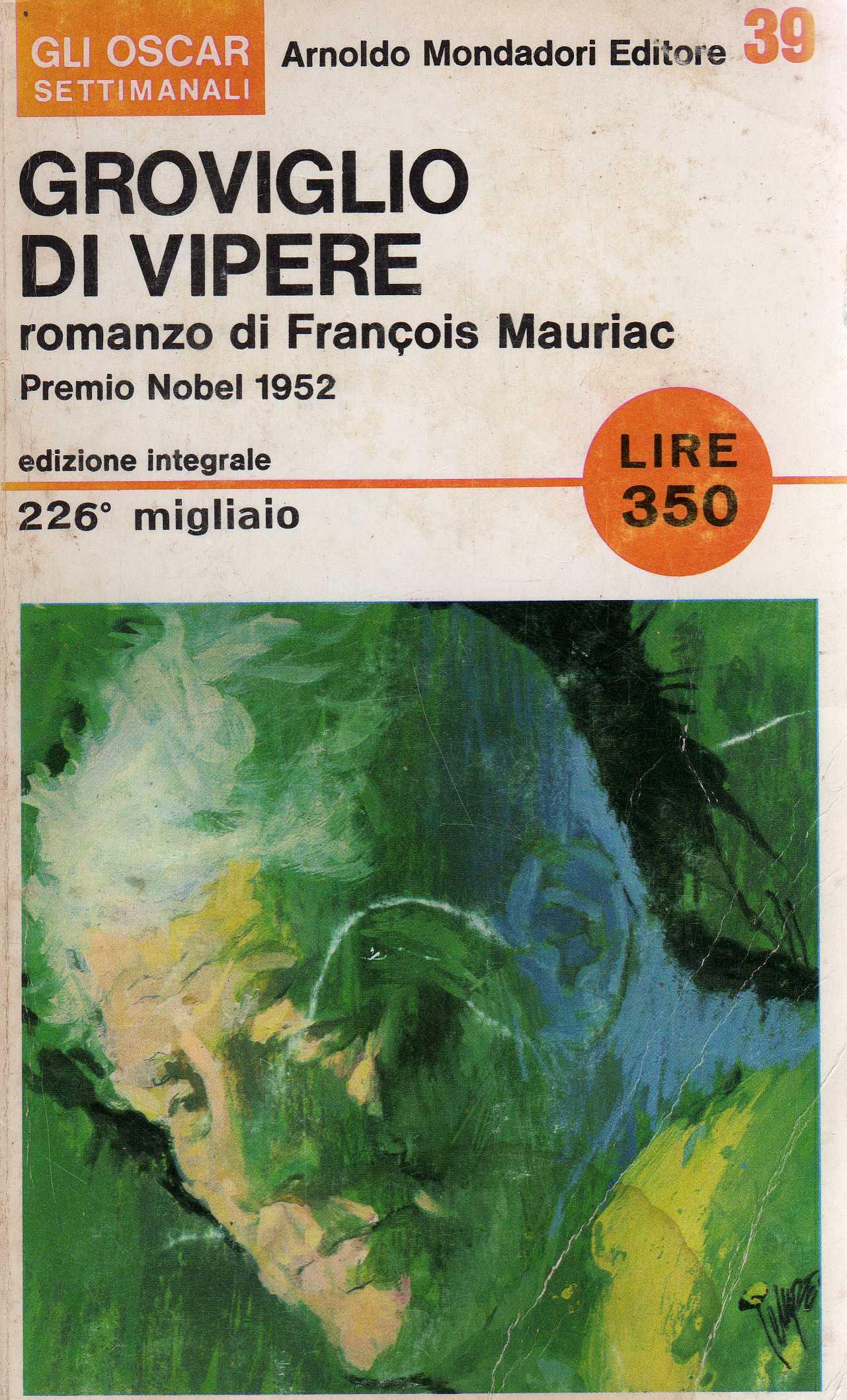 Groviglio di vipere - François Mauriac - Recensione libro