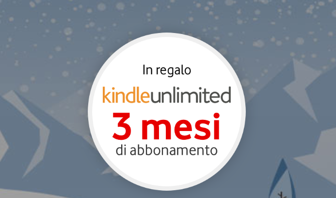 Vodafone Happy Friday: in regalo 3 mesi di abbonamento Kindle Unlimited