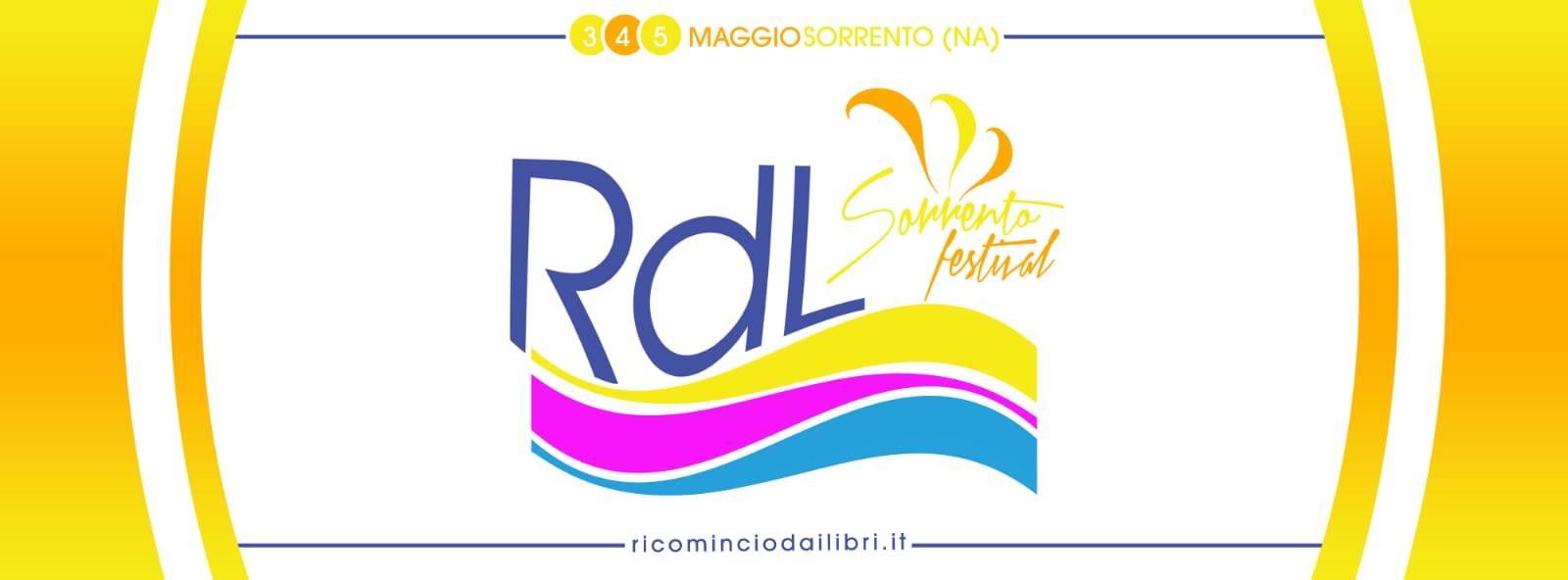 Ricomincio dai libri: la prima edizione del festival arriva a Sorrento dal 3 al 5 maggio