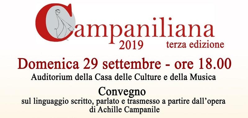 Campaniliana 2019: svelati gli ospiti della rassegna nazionale di teatro e letteratura