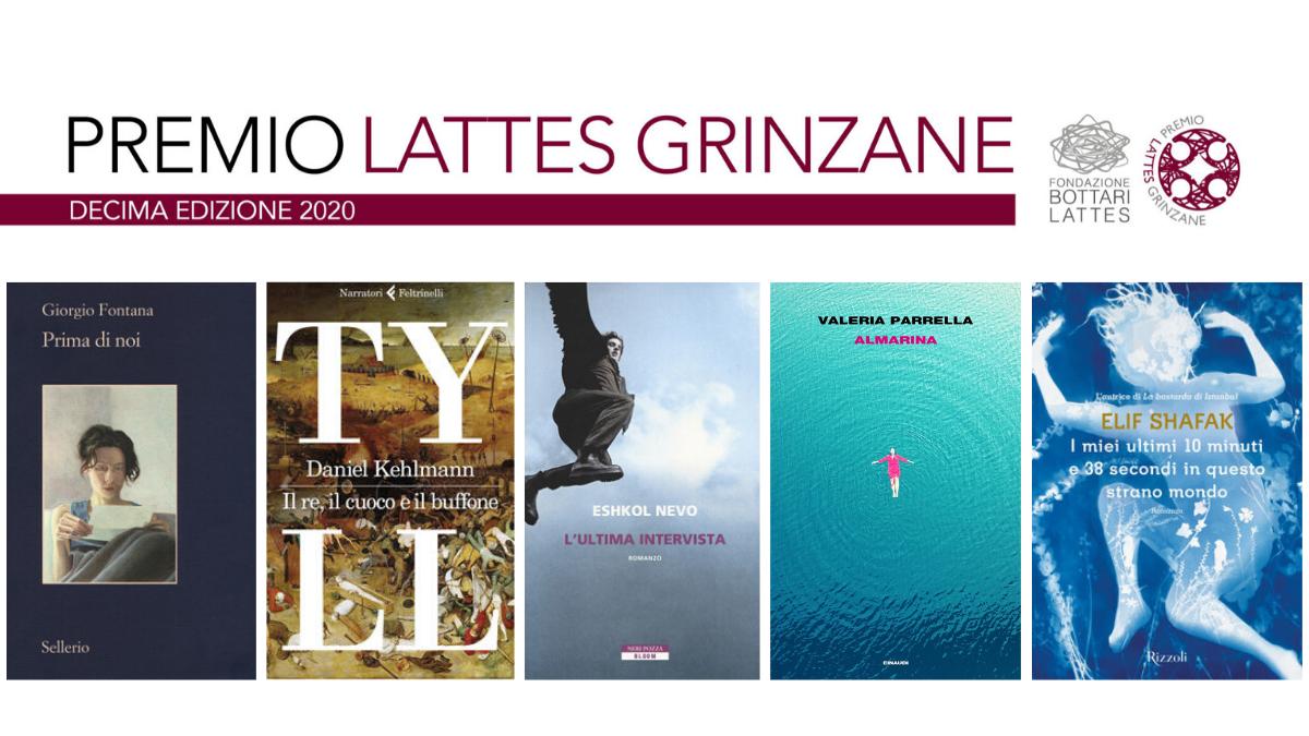 Premio Lattes Grinzane 2020: ecco i 5 finalisti, i soldi in palio alla Protezione Civile
