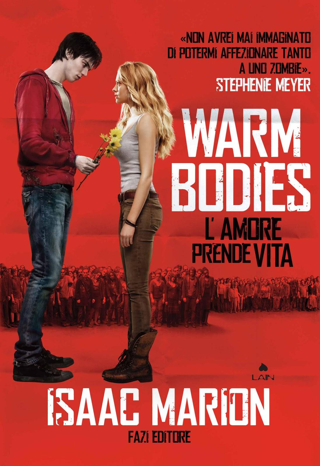 warm bodies by issac marion Isaac marion grew up in the mossy depths of the pacific northwest, where he worked as a heating installer, a security guard, and a visitation supervisor for foster children before publishing his debut novel in 2010.