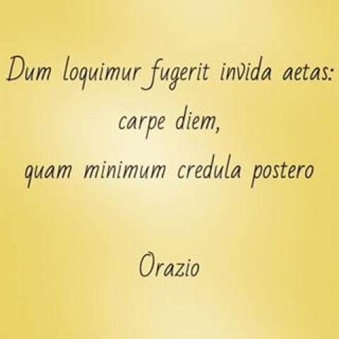 Carpe diem quam minimum credula postero significado for Minimal significato