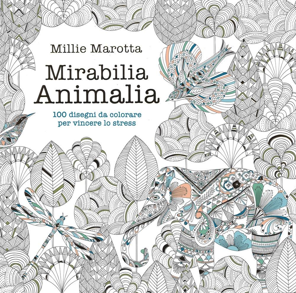 Libri Antistress Da Colorare Animali Fiori E Parolacce