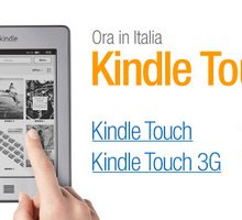 Kindle Touch: il nuovo ereader Amazon arriva in Italia