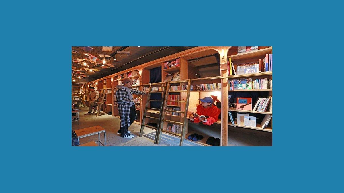 Migliori Libri Interior Design dormire tra i libri: ecco i migliori hotel al mondo per i
