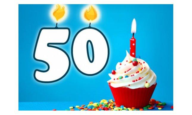 Le Migliori Frasi Di Auguri Per I 50 Anni