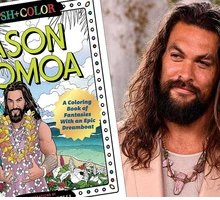 Fan di Jason Momoa? Colora il libro antistress con l'attore di Game of Thrones