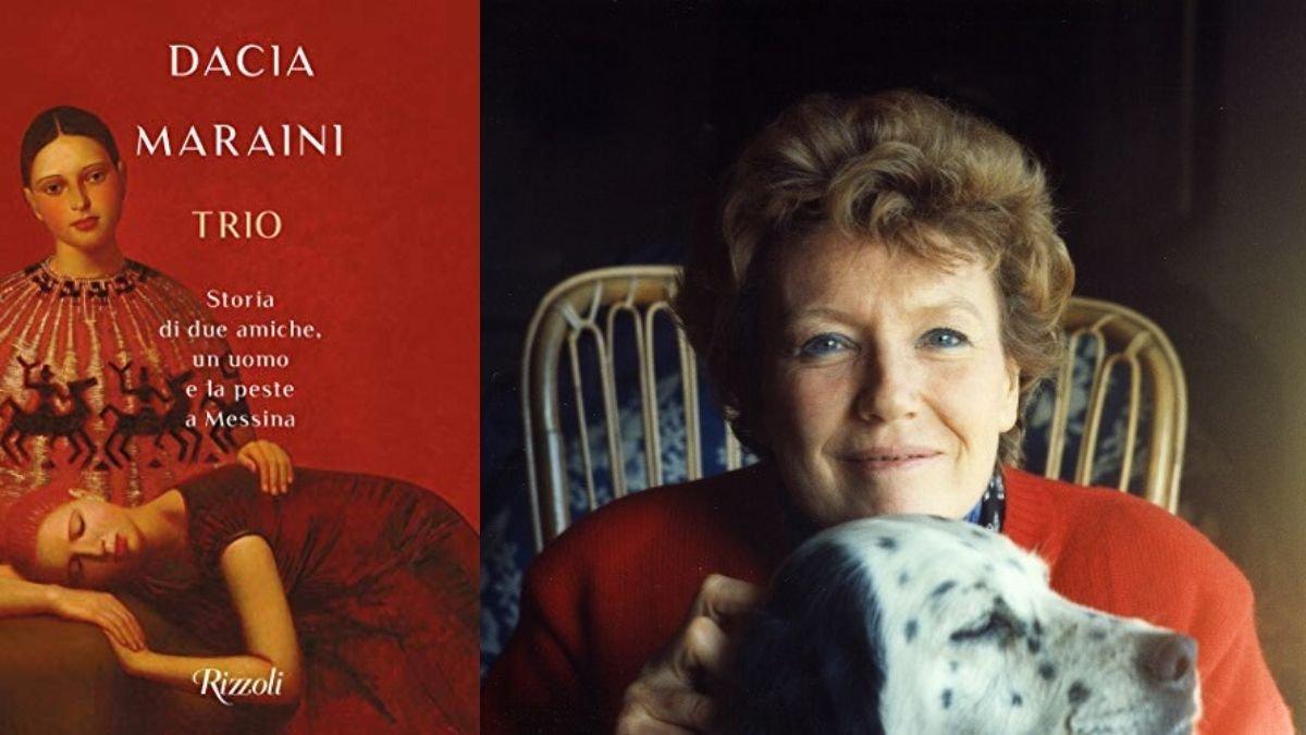 Intervista a Dacia Maraini, in libreria con Trio. Storia di due amiche, un  uomo e la peste a Messina