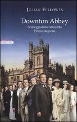 Downton Abbey copertina del libro