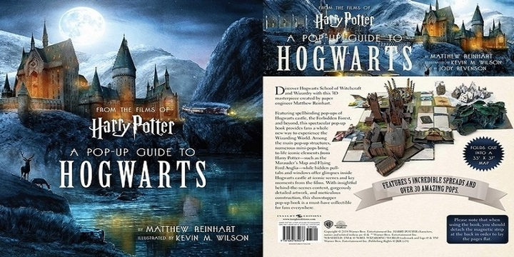Harry Potter: arriva Hogwarts, il libro pop-up. Info e quanto costa